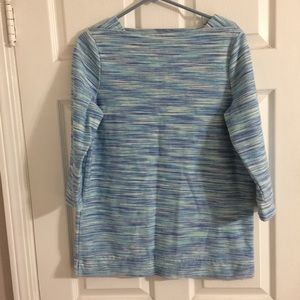Talbots three quarter sleeve heavy knit top